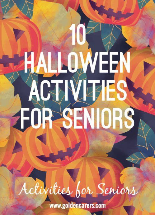 # Halloween - October 31 # Halloween is a wonderful excuse for a theme day! Decorate your facility inside and out with black cats, carved pumpkins, spiders on walls, ghosts hanging from the ceiling, and other spooky decorations.