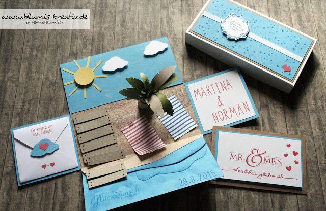 Blumis kreativ Blog: Explosionsbox zur Hochzeit