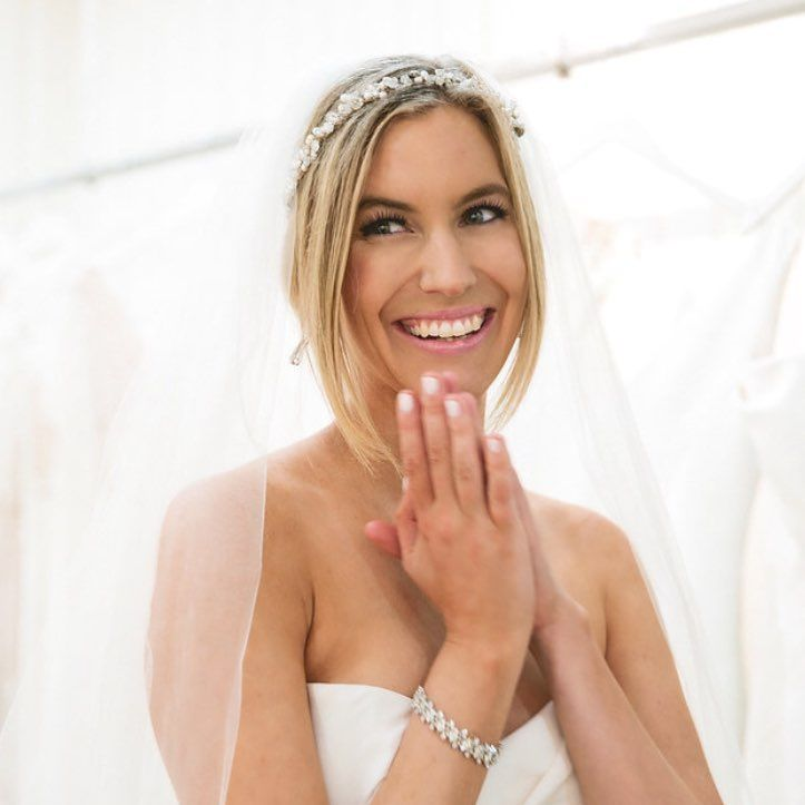 Whitney Bischoff was a beautiful bride this past weekend in Massachusetts. #TheBachelor #Bachelor
