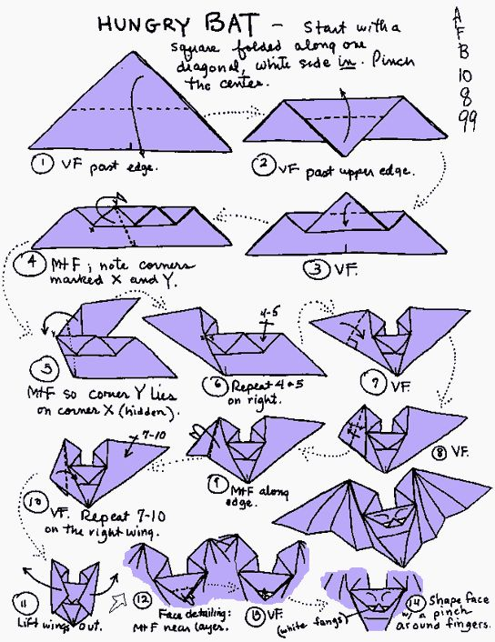 Origami Instructions | Hikaru Chan                                                                                                                                                                                 More