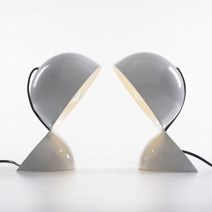 Vico Magistretti Dalu table lamps