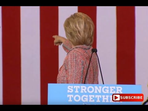 """SHOCKING !!! PROOF That Hillary Clinton Rally In Greensboro NC IS A """"FAKE"""" - Check It Out - YouTube"""