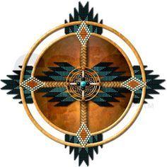 native american mandala 05 throw blanket