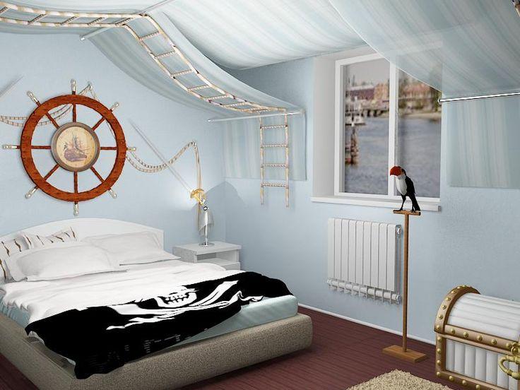 Maison Moderne Biarritz : Chambre garcon
