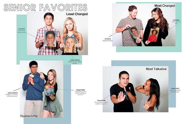 University High School, Irvine, California/Senior Favorites spread