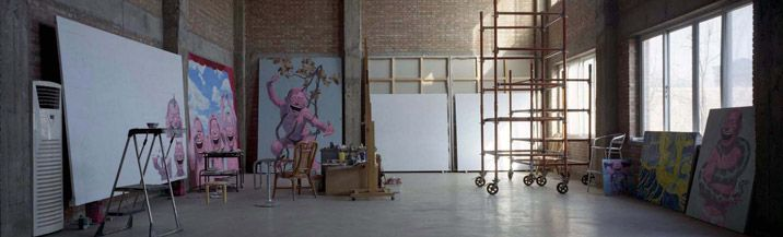 Inside the ateliers of China's super-star artists