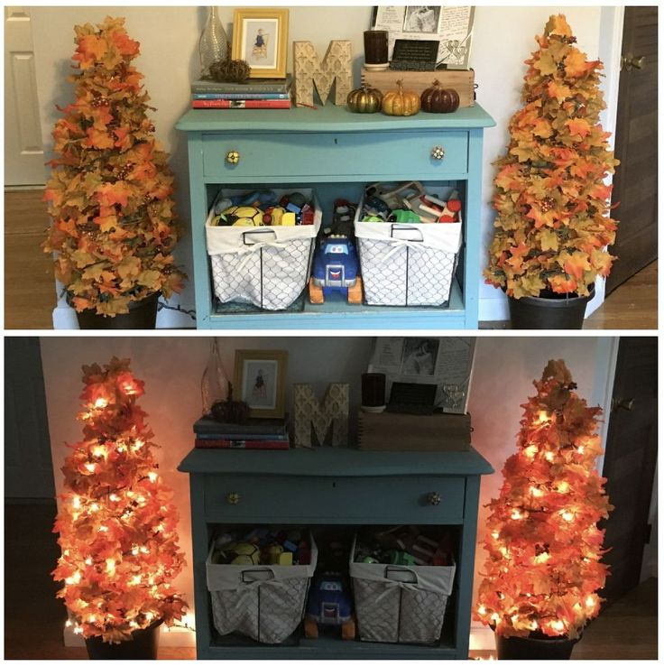 She brought in 2 tomato cages for this gorgeous fall fireplace idea http://www.hometalk.com/22543397/fall-topiary-with-lights?se=fol_new-20161008-1&date=20161008&slg=755d7359dc18a440c0cd549e96195593-1110481