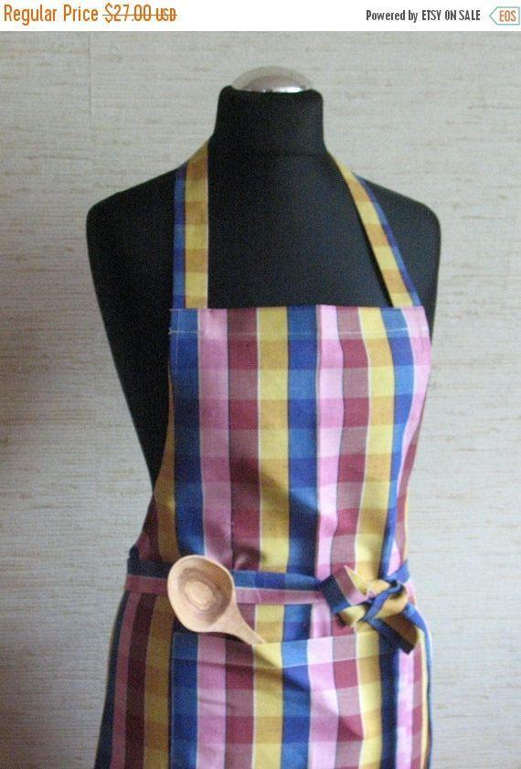 Linen Kitchen Utility Apron Womens Aprons for women Valentines