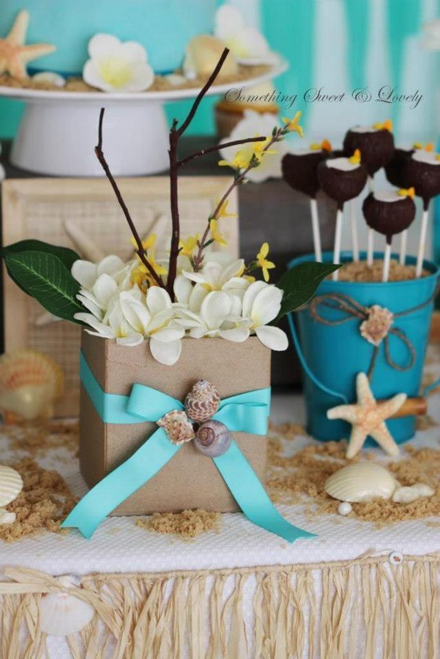 luau baby shower luau beach dessert table dessert table designer roxy davis something sweet u0026