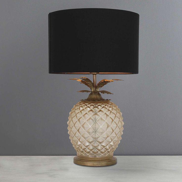 Havana Pineapple Table Lamp | Dunelm