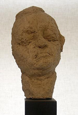 "Siri Derkert, ""Kajsa Rootzén"", terrakotta. Foto Rune Lindström"