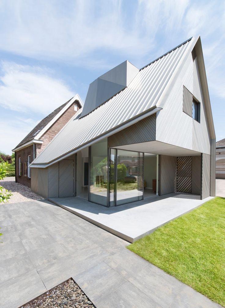 286 best Sloped Roof images on Pinterest Modern houses - küchenwände neu gestalten