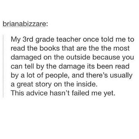 Image result for the most loved books are the most damaged
