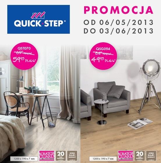 Zapraszamy do skorzystania z promocji na panele Quick-Step :) więcej szczegółów tu: http://www.panele.directfloor.pl/wszystko-o-panelach/panele-quick-step-promocja-poznan/