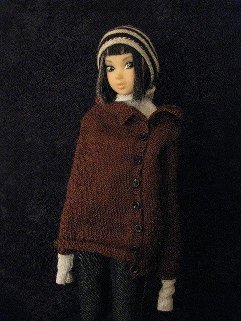 Momoko in Jiajia button sweater | Flickr - Photo Sharing!