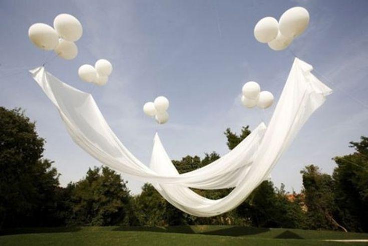 Fairy Wedding Ideas: Floating Canopy