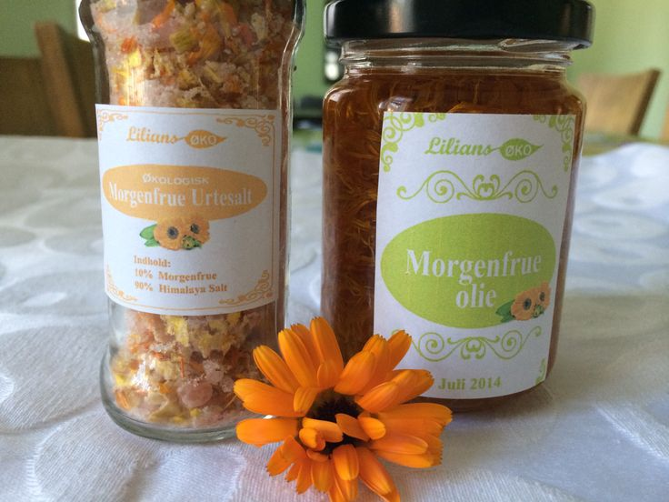 Calendula Salts and Oils