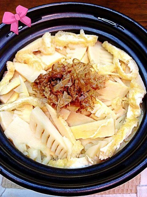 やはり水煮は美味しくないわー!! 余っていたので…((≧ω≦)) どうも香りがね〜 - 14件のもぐもぐ - たけのこご飯… by Ory