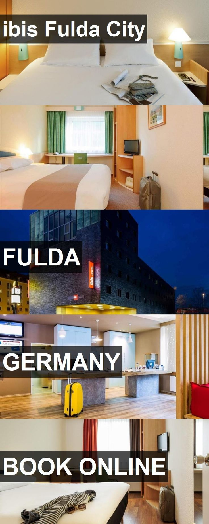 Hotel ibis Fulda City in Fulda, Germany. For more information, photos, reviews and best prices please follow the link. #Germany #Fulda #travel #vacation #hotel