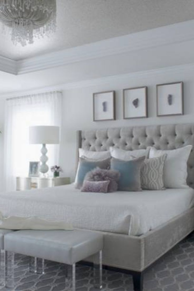 51 Gray Bedroom Decor Ideas With Images Blue Bedroom Decor