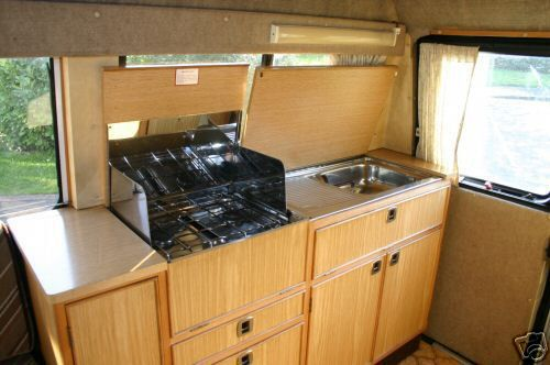 17 best images about camper kitchen on pinterest ovens for Camper kitchen designs