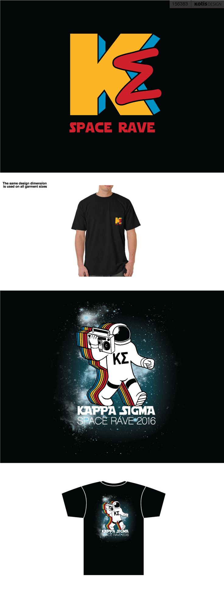 156383 - Vandy Kappa Sigma | Space Rave Shirts '16 - View Proof - Kotis Design