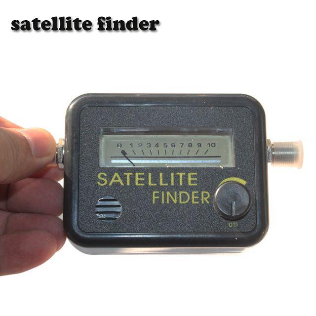 Satellite Finder Tool Meter FTA LNB DIRECTV Signal Pointer