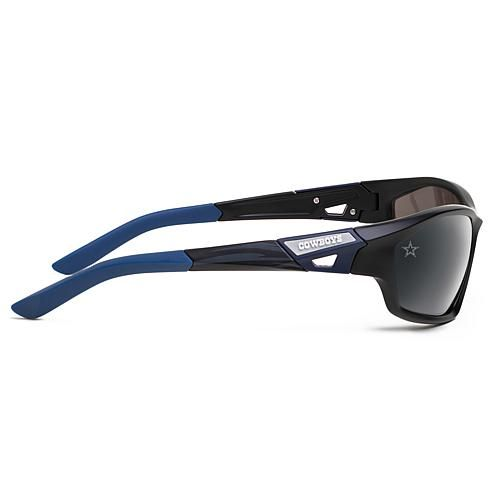 "Officially Licensed NFL ""Lateral"" Sunglasses with 360-Degree Bendable Arm Technology by Eye Ojo - Cowboys"