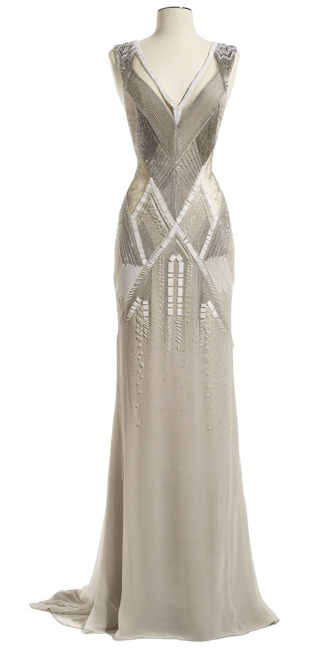 J. Mendel Spring 2014 Bridal Collection something 'great gatsby' about it :)