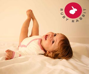 Luxurious baby basics made from a blend of eco-friendly bamboo and organic cotton. Consequently the Ruby Rabbit line is silky soft along with all the other benefits bamboo fabric offers.