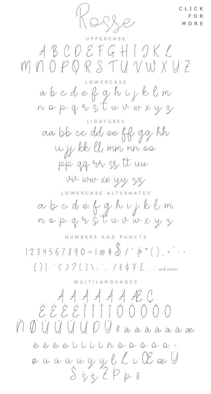 Rosse – Casual Beauty Font – Eine lässige und sch…