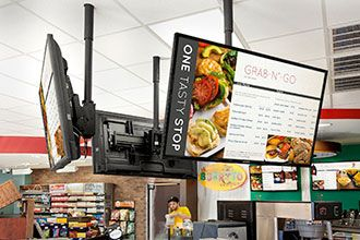 Rocket Oil Uses Samsung Smart Signage Digital Menu Boards