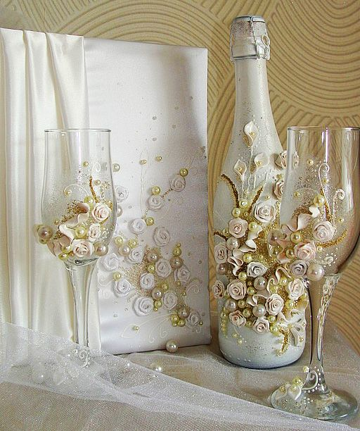 Idéias de decoração vidros de casamento     Fiquei apaixonada.                                                                             ...