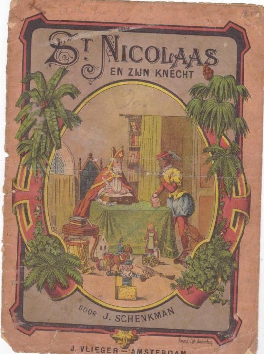 St. Nicolaas en zijn knecht ca.?