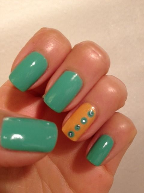 Summer Nail Look! Would use different colors though