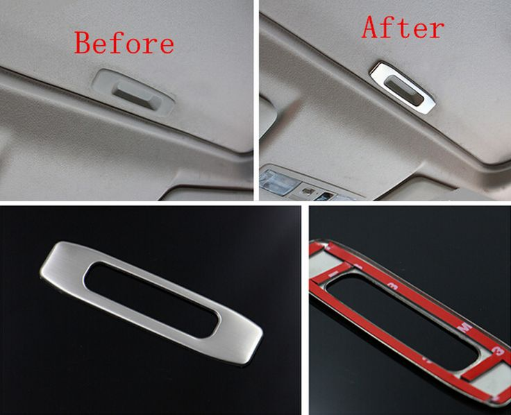 For Mitsubishi Outlander 2013 2014 2015 2016 Stainless Sunroof Handle Cover Trim 1pcs
