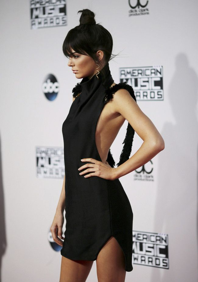 Kendall Kylie Jenner American Music Awards 2015 Noviembre 1