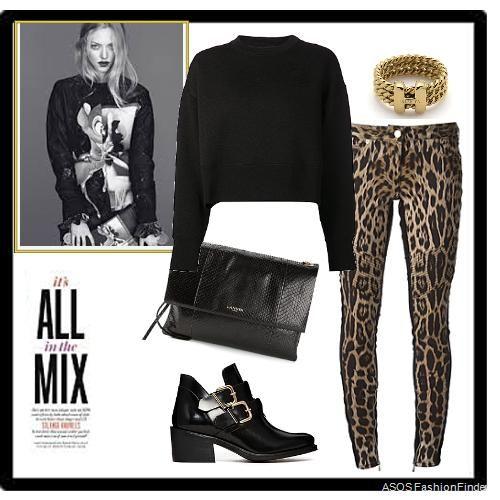 Leopard pant | Women's Outfit | ASOS Fashion Finder