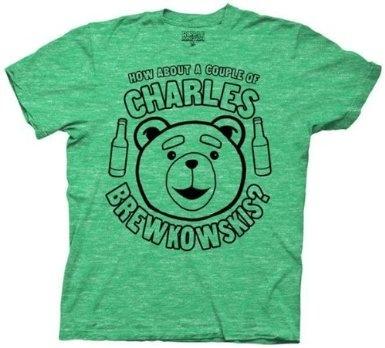Amazon.co.jp: グリーン【新デザイン 映画の中のジョークで笑えるデザイン!】 映画 テッド Tシャツ Ted コメディ ハングオーバー 並行輸入: 服&ファッション小物