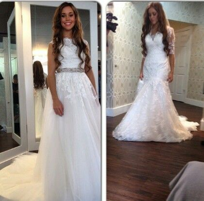Jessa wedding dress shopping jessa duggar wedding for Jessa duggar wedding dress