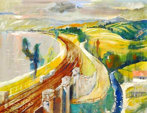 Szőnyi, István (1894-1960) - The Danube bend by Zebegény