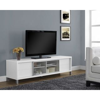 Shop for White Hollow-core 70-inch Euro TV Console. Get free shipping at Overstock.com - Your Online Furniture Outlet Store! Get 5% in rewards with Club O!