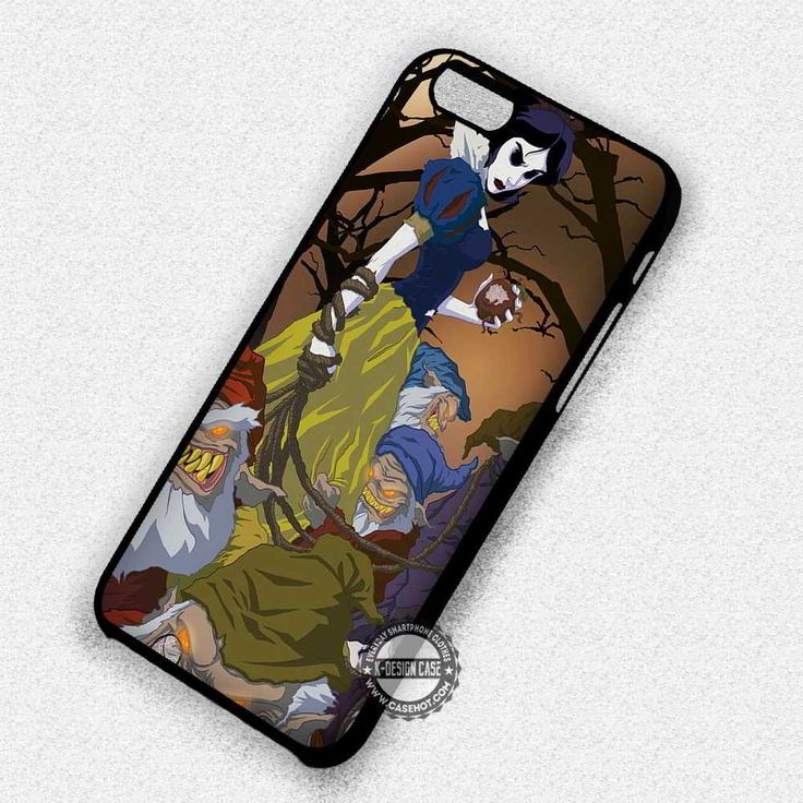 Scary Snow White - iPhone 7 6 Plus 5c 5s SE Cases & Covers