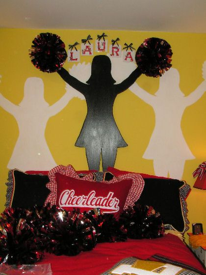 Cheerleader Theme Room - Design Dazzle
