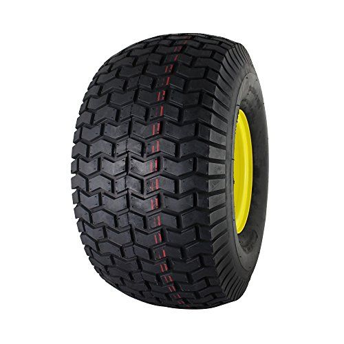 MARASTAR 21423 20x10.00-8 Rear Tire Assembly Replacement for John Deere Riding Mowers - 20x10.00-8 air filled (pneumatic) rear tire and wheel assembly is the perfect replacement for John Deere Riding mowers with 20x10.00-8 rear tires (check your existing tires sidewall). You don't need to change out an old tube or visit a professional tire shop, simply replace the entire old or dama...