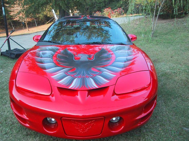 1998 Trans Am hood bird Pinterest Trans am