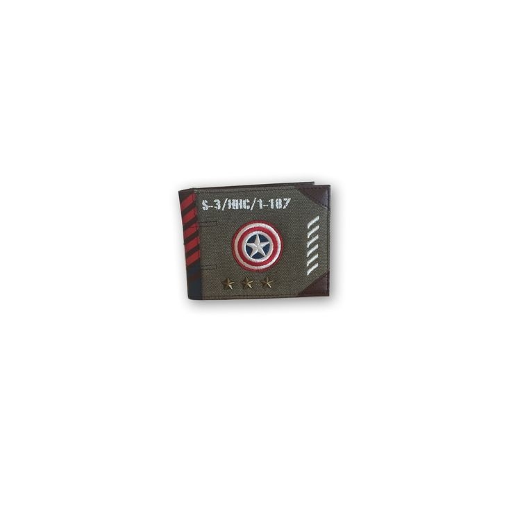 Marvel Captain America Vintage Military Wallet