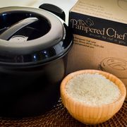 How to Use a Pampered Chef Rice Cooker | eHow