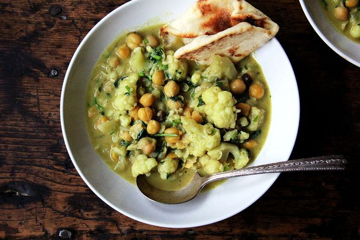 gluten free squash or pumpkin stew with chickpeas and carrots see more ...
