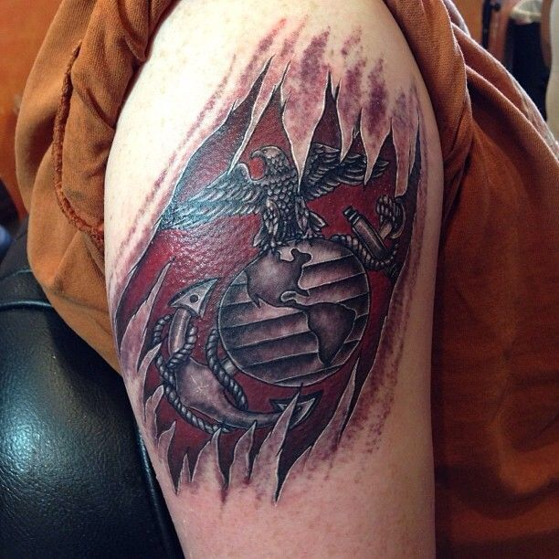Usmc female tattoos